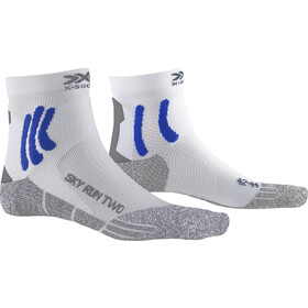 X-Socks Sky Run Two Skarpetki, white/twyce blue/grey melange